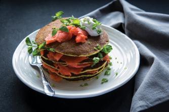 Pea-Shoot-Pancakes